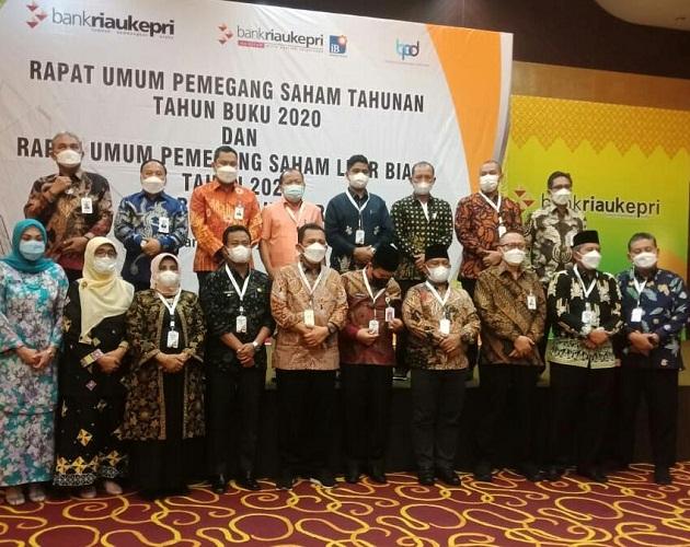 Hadiri RUPS PT. Bank Riau Kepri, Wabup Rohil H. Sulaiman Minta Ada Peningkatan Dana CSR untuk Rohil