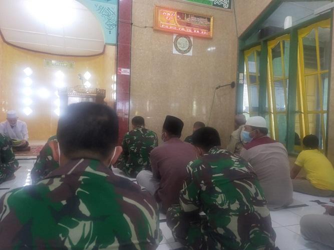 Personel Kodim 0204/DS, Gelar Doa Bersama Demi Suksesnya TMMD ke-111