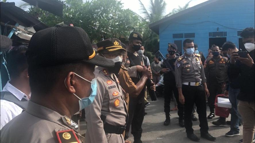 Kapolres Rokan Hilir Memimpin KRYD dalam Rangka Antisipasi Aksi Premanisme, Pungli, Narkoba dan Himbauan Prokes