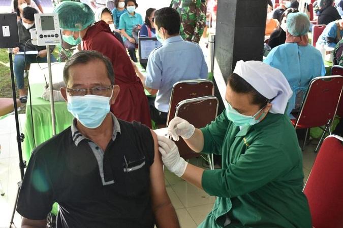 Kodam I/BB Percepat Wujudkan Herd Immunity Vaksinasi Dikebut