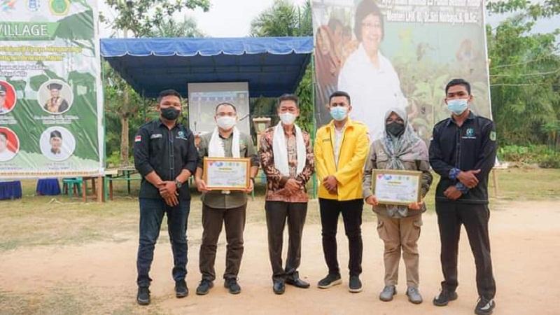 Bupati Rohil Resmikan Green Village di Teluk Bano II Kecamatan Pekaitan