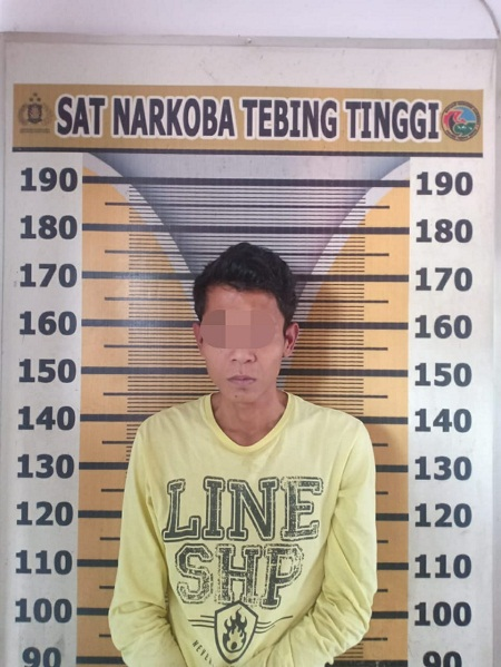 Doni Seorang Oknum Pelajar Tertangkap Satres Narkoba Diduga Terlibat Kasus Sabu