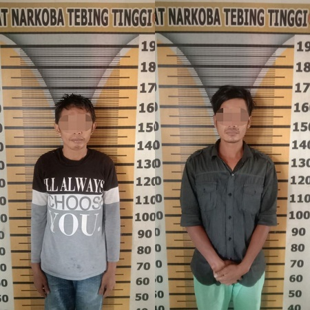 Dua Orang Diduga Simpan Sabu dalam Bambu Ditangkap Satres Narkoba Tebing Tinggi