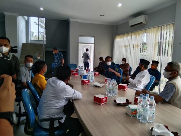 Gubernur Riau dan Bupati Rokan Hilir Bersama Rombongan Kunjungan Spam Durolis
