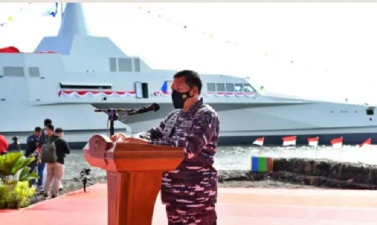 KRI Golok-688 Tambah Kekuatan Kapal Striking Force TNI AL