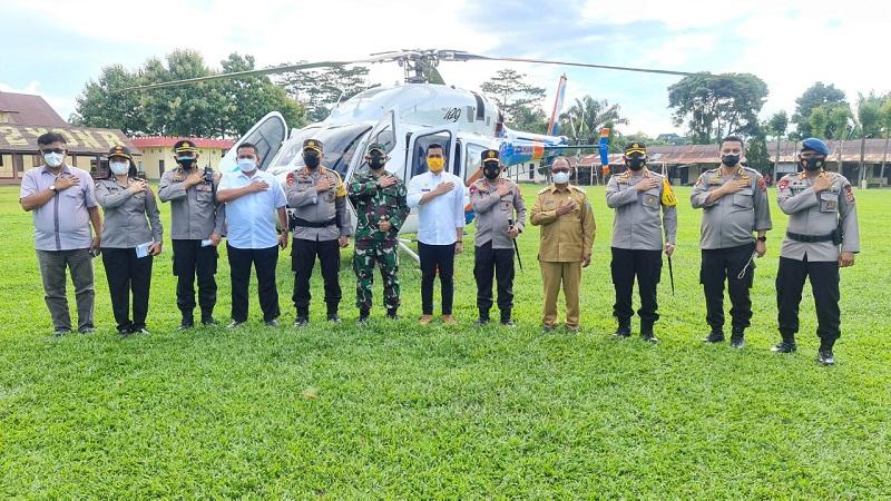 Kapoldasu Beri Arahan Percepatan Penanganan Covid-19 di Simalungun Guna Mendukung Instruksi Presiden RI