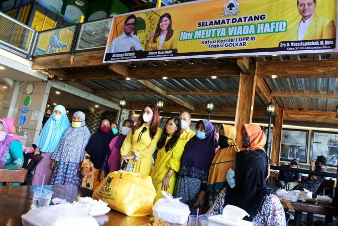 Ketua Komisi I DPR RI Kunker ke Medan dan Ikuti Baksos Partai Golkar