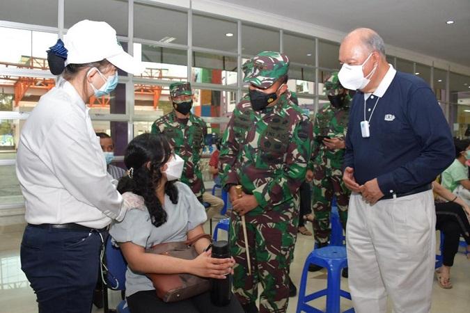 Pangdam I/BB Mengapresiasi Kepedulian Yayasan Budha Tzu Chi Medan Mengatasi Pandemi COVID-19