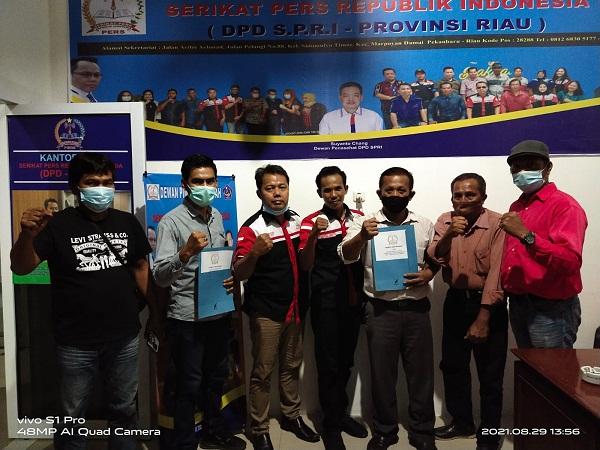 Susunan Struktur DPC SPRI Kabupaten Rohil Ditetapkan DPP SPRI