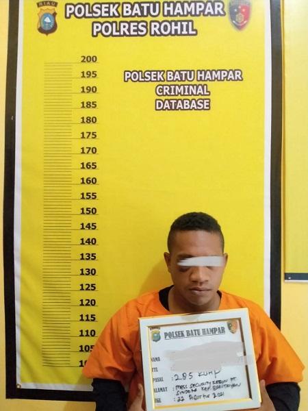 Diduga Melakukan Pemerkosaan, Seorang Oknum Security Dibekuk Satreskrim Polsek Batu Hampar