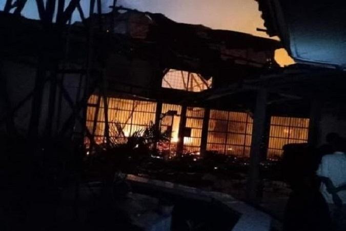 Kalapas Kelas I Tangerang Ungkap Kronologis Kebakaran Lapas Tangerang