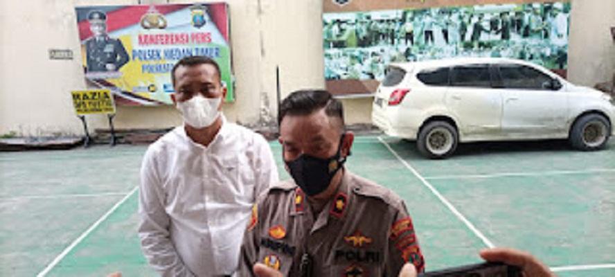 Pelaku Jambret Pegawai BUMN, Disergap Tim Tekab Polsek Medan Timur