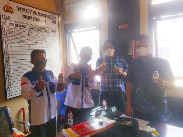 PMKM Prima Indonesia DPC Kota Medan, Jalin Silaturahmi dengan Panit Reskrim Polsek Medan Area